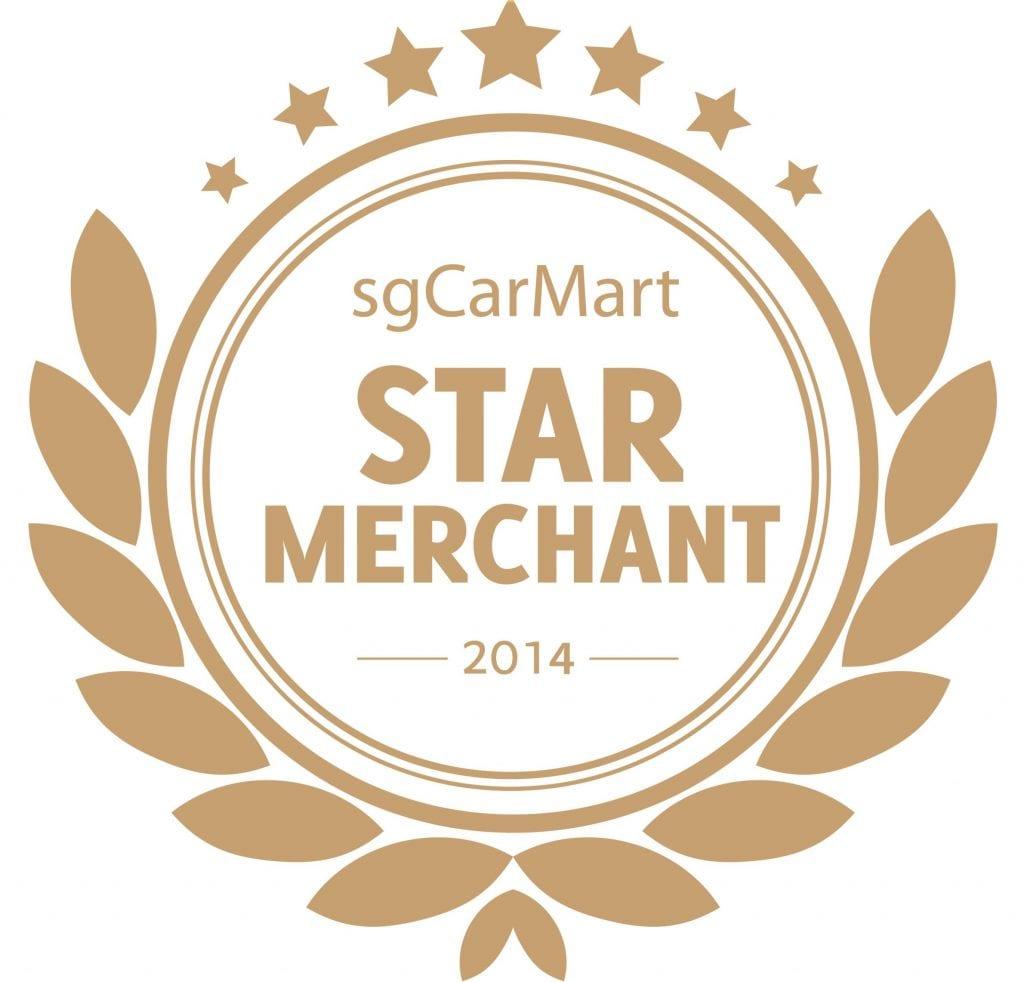SGCartMart Star Merchant 2014 Award Logo