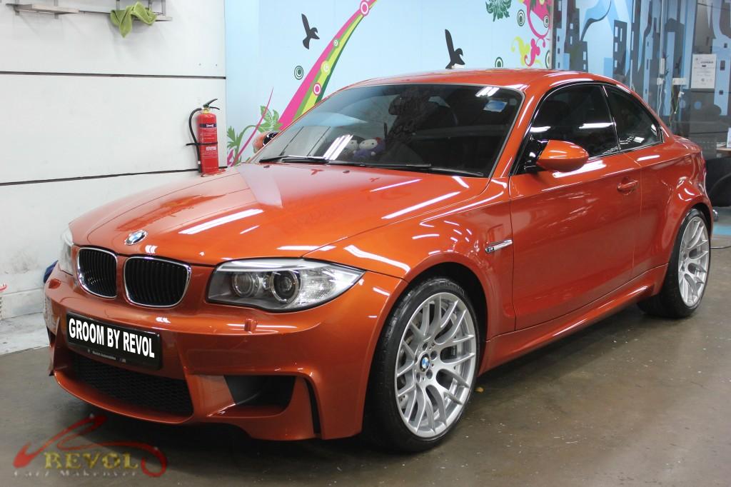 BMW 1M with ZeTough Paint Protection