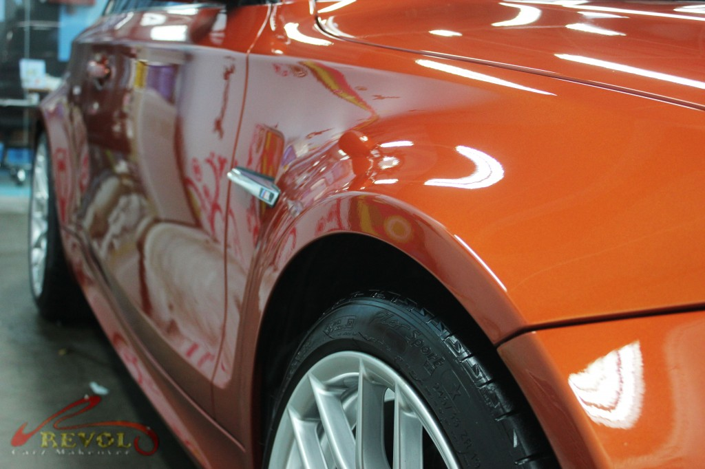 BMW 1M stunningly coated with ZeTough Ceramic Paint Protection