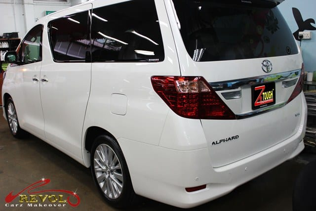 Toyota Alphard in ZeTough Ceramic Paint Protection Coating