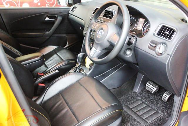 Volkswagen CrossPolo -interior