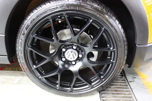 Volkswagen CrossPolo - wheel