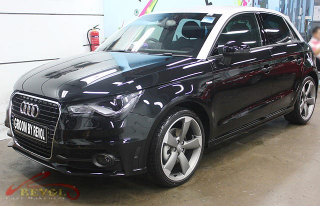 Audi A1 Polished - side profile