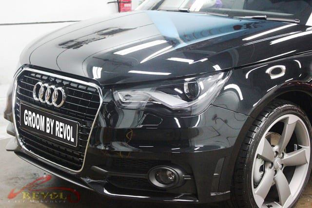 Audi A1 Polished - bumper