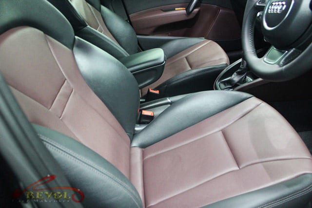 Audi A1 Polished - front seats