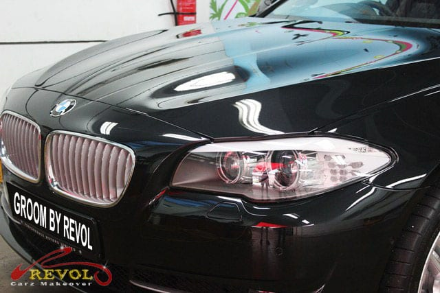 BMW Active Hybrid 5 - bumper