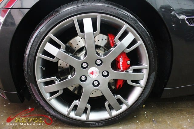 Maserati GranTurismo Cambiocorsa S - rims