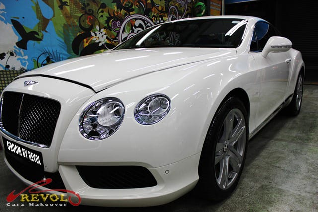 Bentley Continental GT Coupe - side profile