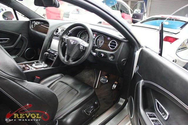 Bentley Continental GT Coupe - interior
