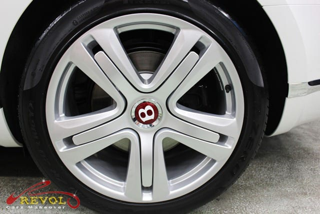 Bentley Continental GT Coupe - wheels