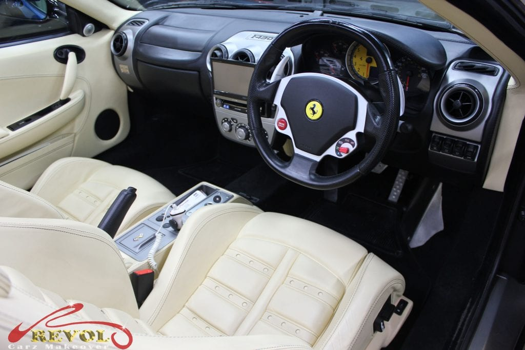 ferrari f430 spider with zetough ceramic paint protection revol car grooming singapore 39 s. Black Bedroom Furniture Sets. Home Design Ideas
