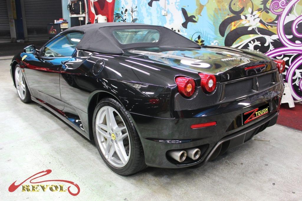 Ferrari F430 Spider - side rear