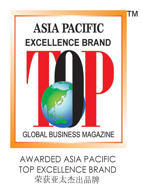 Asia Pacific Top Excellence Brand Award Logo
