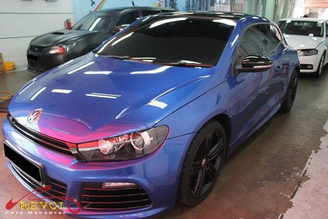 Volkswagen Scirocco R - front view