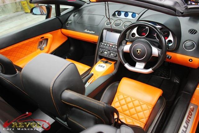 Lamborghini Spyder - interior