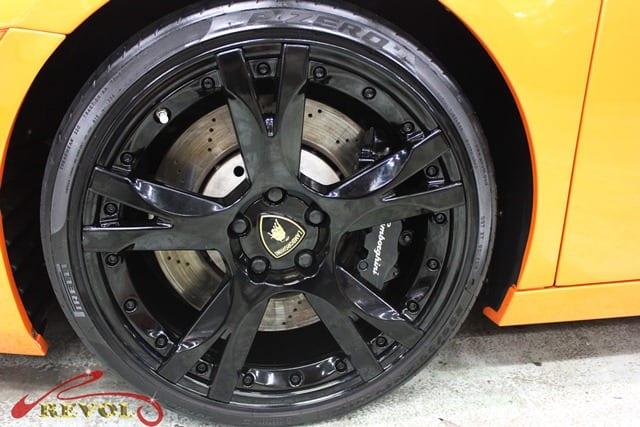 Lamborghini Spyder - rims