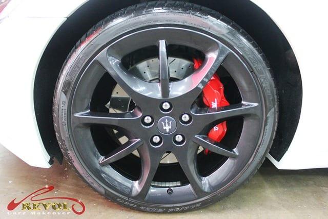 Maserati GranCabrio Sport  - rims