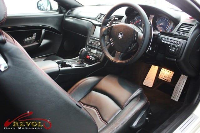 Maserati GranCabrio Sport - interior