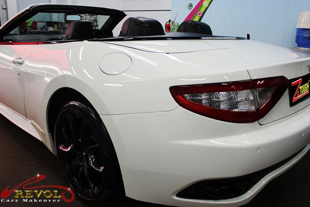 Maserati GranCabrio Sport  - rear view