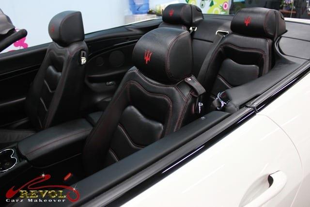 Maserati GranCabrio Sport - leather seat handcrafted by Poltrona Frau