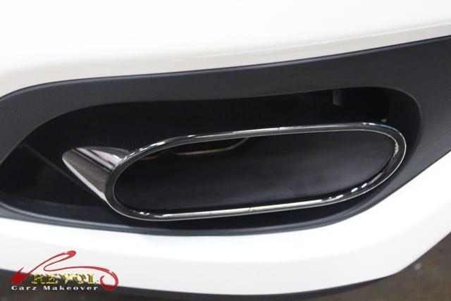 Maserati GranCabrio Sport  - exhaust pipe