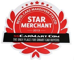 SGCartMart Star Merchant 2013 Award Logo