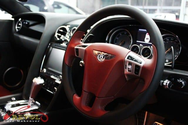 bentley - steering wheel
