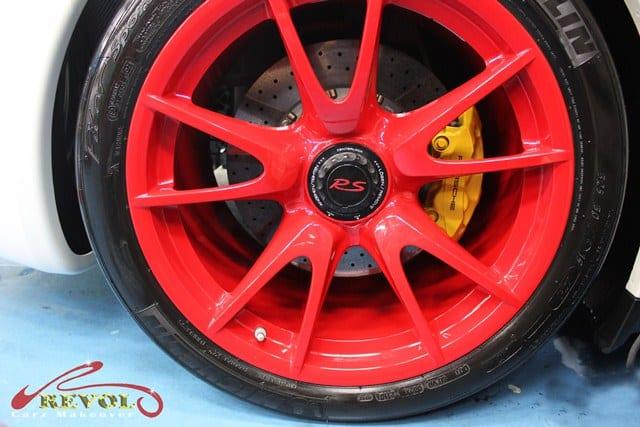 911 GT3 RS - wheels