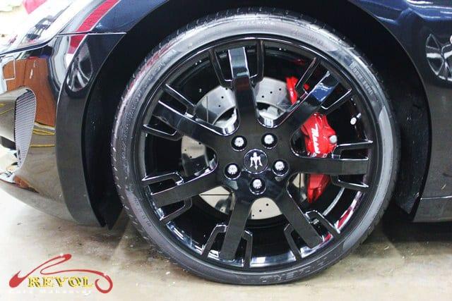 Maserati GranCabrio Sport Coated in ZeTough Paint Protection