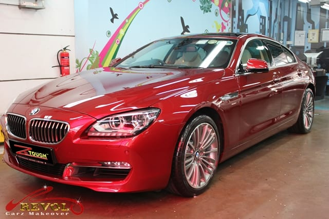 BMW 640i Gran Coupe with ZeTough Paint Protection