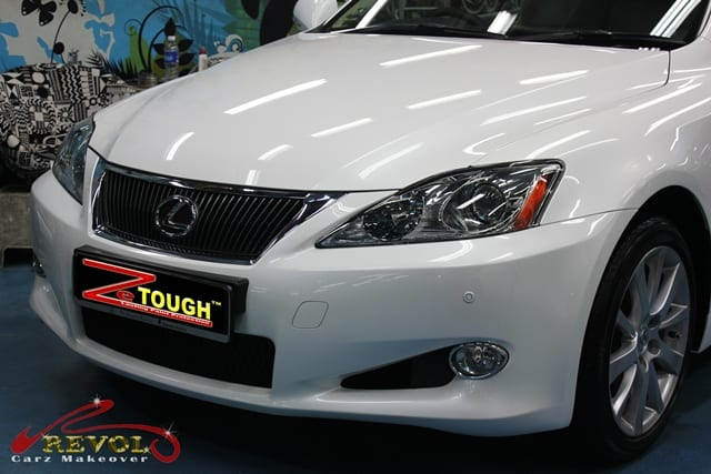 ZeTough Glass Coating Paint Protection for Lexus IS 250C