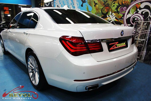 BMW 740LI with ZeTough Paint Protection