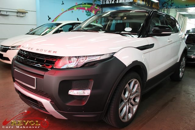 Glass Coating Paint Protection for Range Rover Evoque