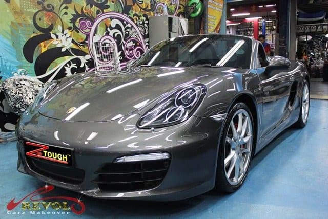 2013 Porsche Boxster S with ZeTough Glass Coating