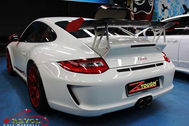 911 GT3 RS - rear carbon fiber wing