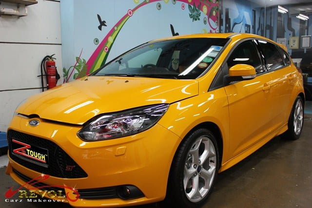2013 Ford Focus ST Wrapped in ZeTough Glass Coating