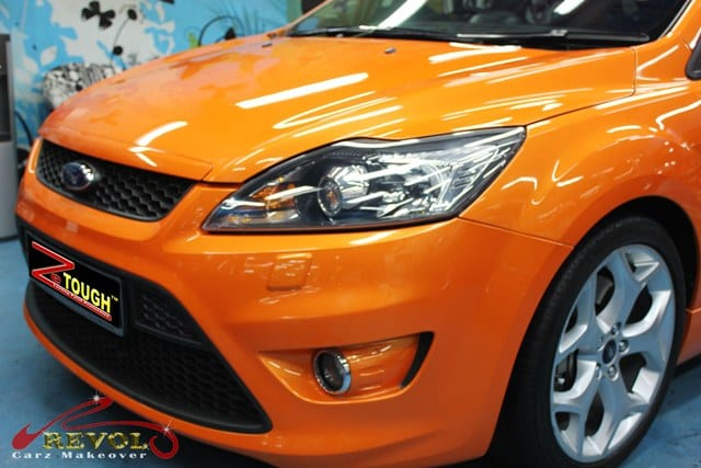 ZeTough Glass Coating Paint Protection for Ford Focus ST
