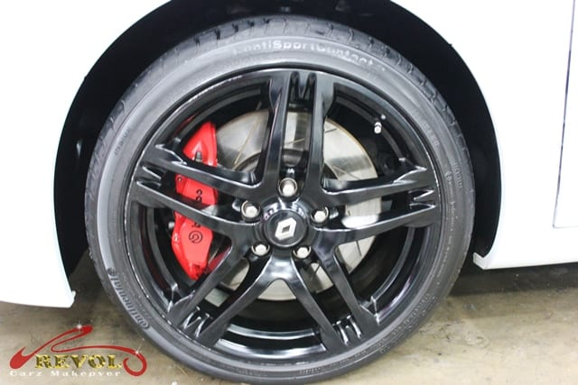 Revol Carz: Renault Mégane RS with Glass Coating Protection