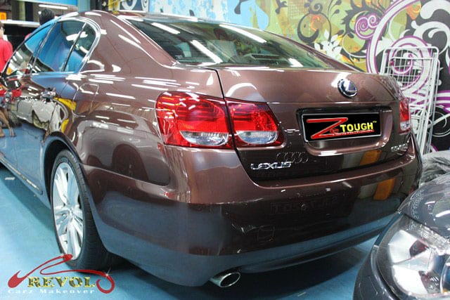 Coating Paint Protection on Lexus