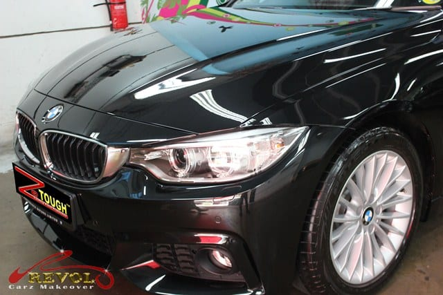 Striking gloss of BMW 428i by ZeTough Paint Protection