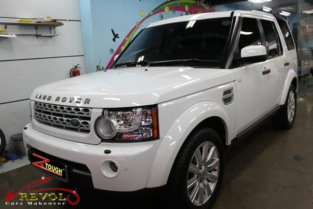 land Rover discovery 4 2013 Ceramic coating (1)