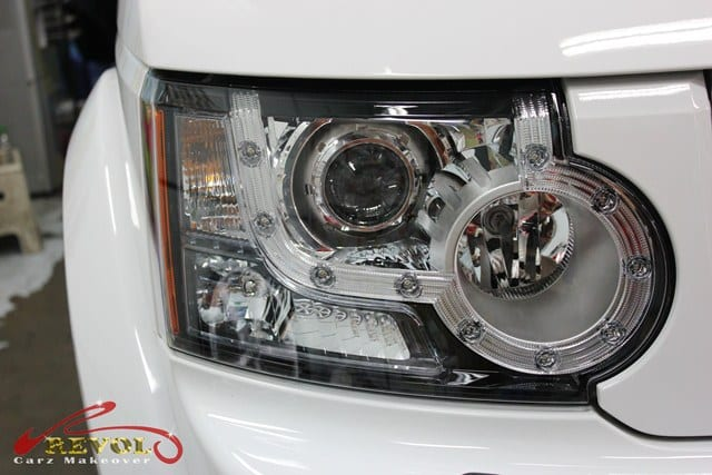 Land Rover DISCOVERY 4 (Disco) with ZeTough Paint Protection