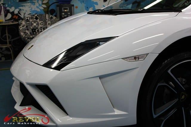 Lamborghini Gallardo LP560-4 with ZeTough Glass Coating