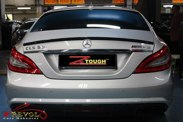 Mercedes Benz CLS63 AMG with ZeTough Glass Coating