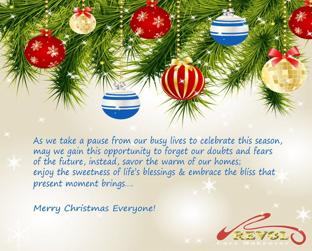 Merry and Blessed Christmas 2013!