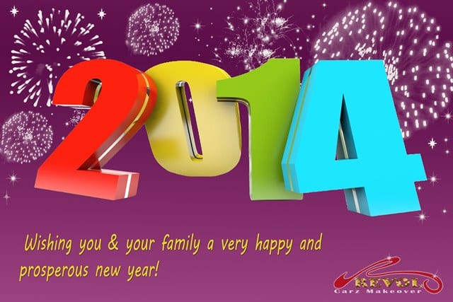 Happy New Year 2014! Have a prosperous one!