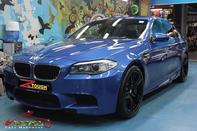 BMW M5 with ZeTough Glass Coating Paint Protection