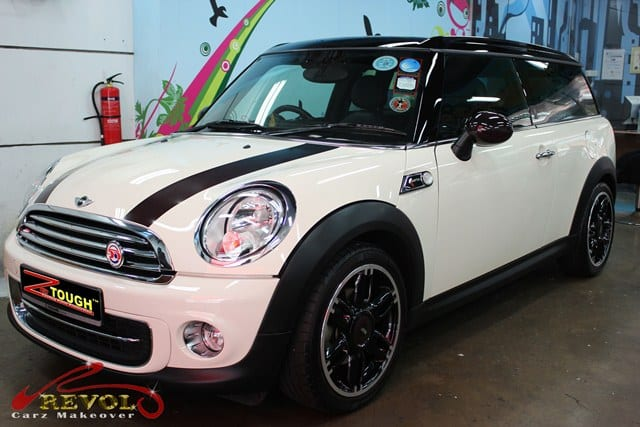 Mini Cooper Hampton 50 with ZeTough Paint Protection