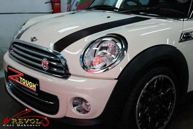 Mini Cooper Hampton 50 with ZeTough Paint Protection