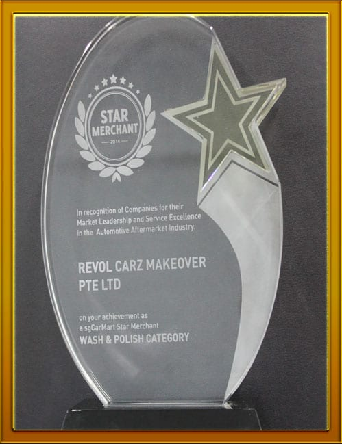 SG CarMart presents Star Merchant Award to Revol Carz